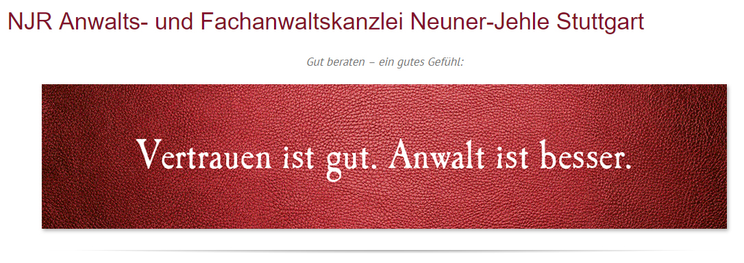 Rechtsanwalt in West (Ludwigsburg) - NJR Rechtsanwaltskanzlei: Verkehrsrecht, Bußgelder, Familienrecht, Scheidungen, Strafrecht, Arbeitsrecht, Blitzeranwalt