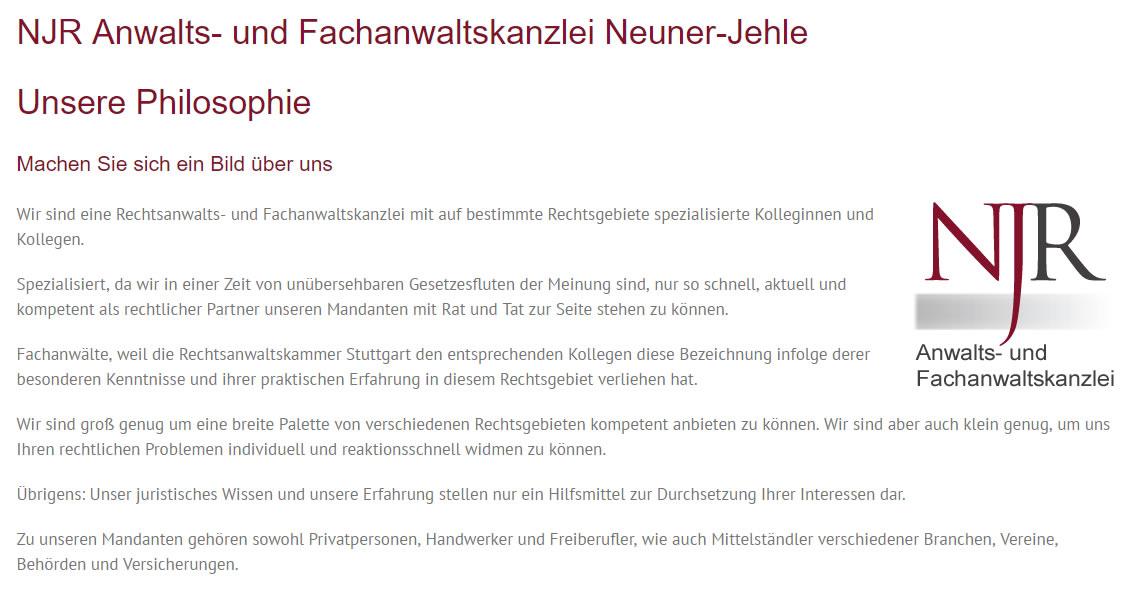 Strafrecht für  Remseck (Neckar)